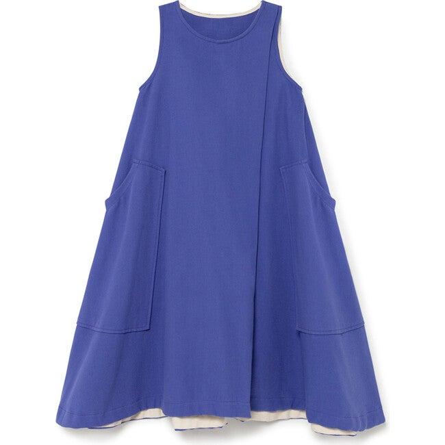 Retro Dress, Blue Klein