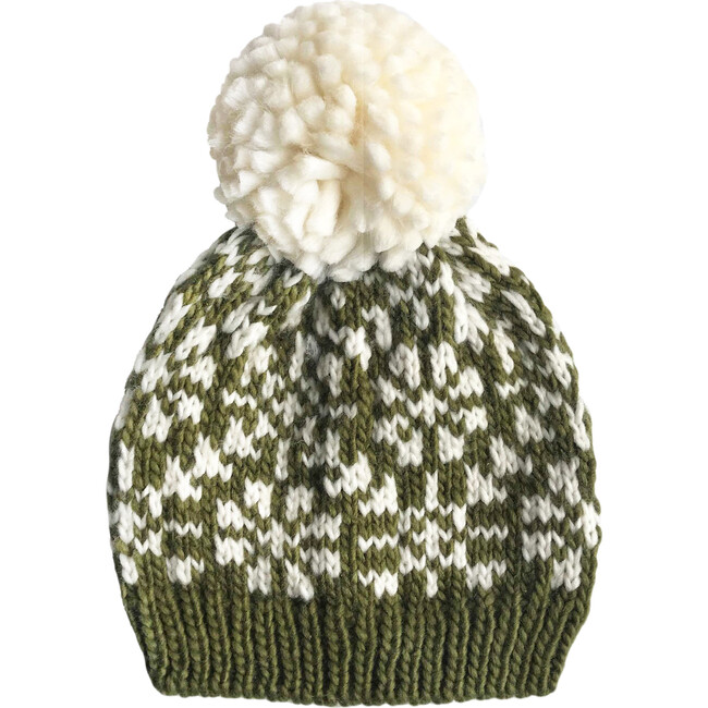 Snowfall Hat, Olive