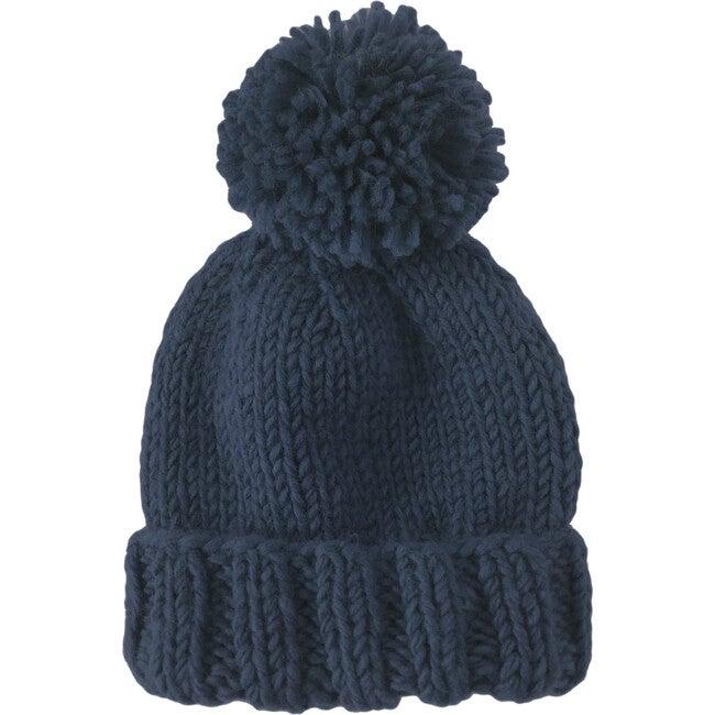 Classic Pom Hat, Navy