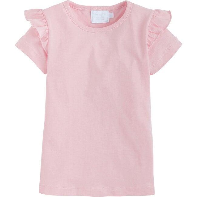 Cap Angel Sleeve Tee, Light Pink