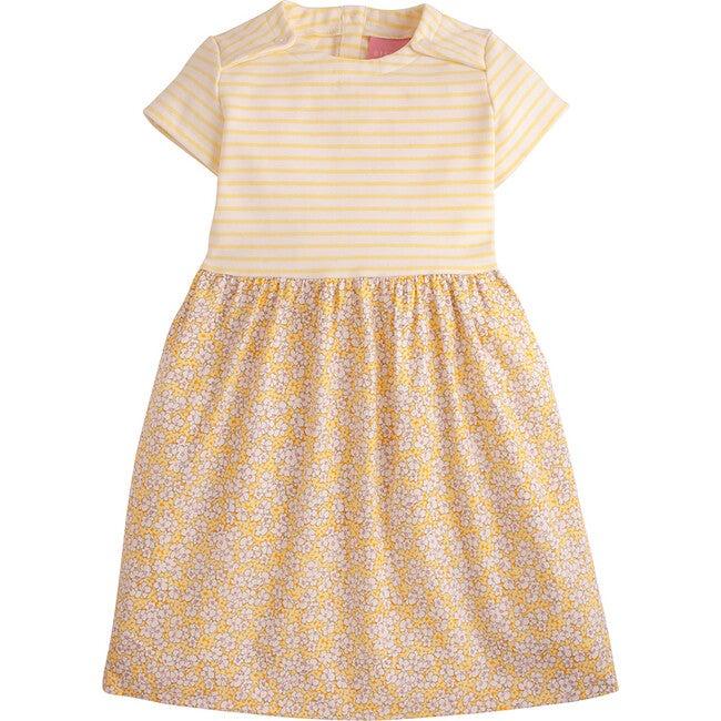 Rosie Dress, Yellow Daisies