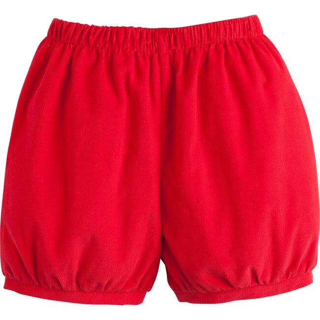 Banded Short, Apple Red