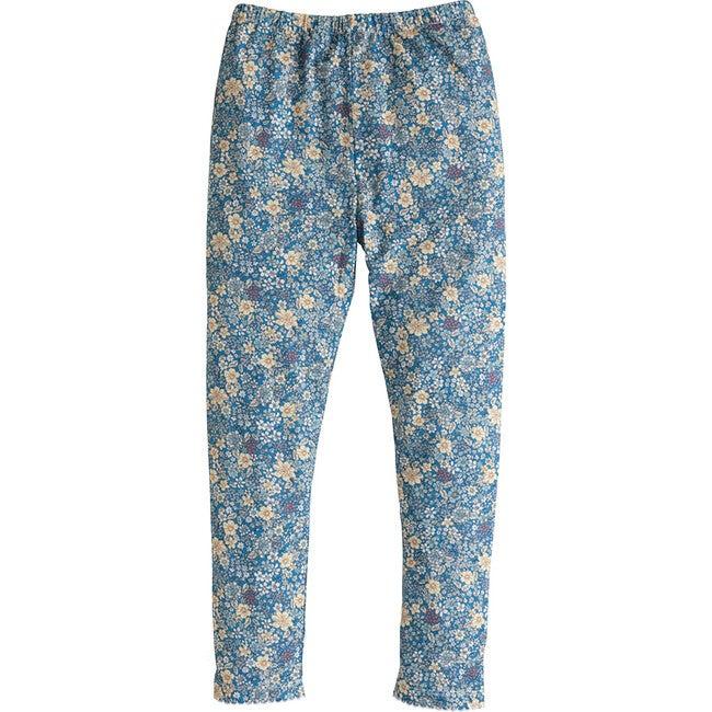 Leggings, Blue Daisy