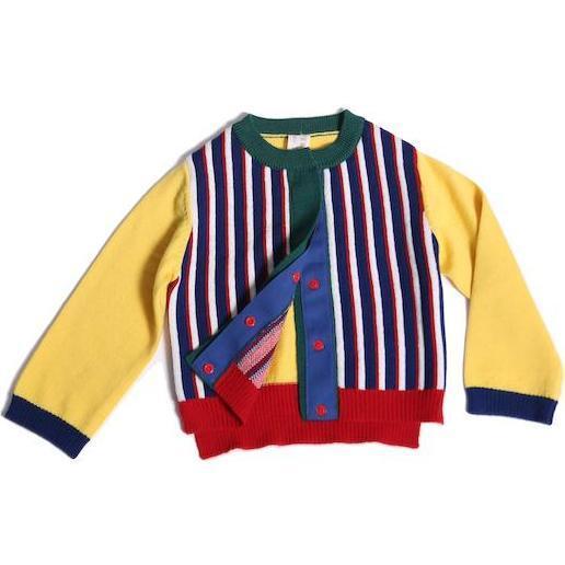 Polygon Baby Cardi, Jelly B Mix - Cardigans - 1