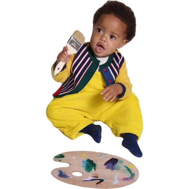 Polygon Baby Cardi, Jelly B Mix
