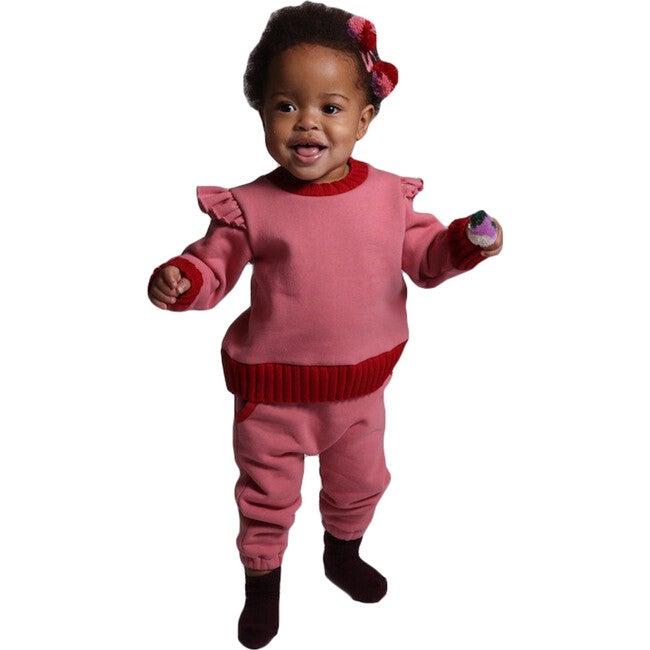 Baby Harriet Flounce Pullover, Gumball