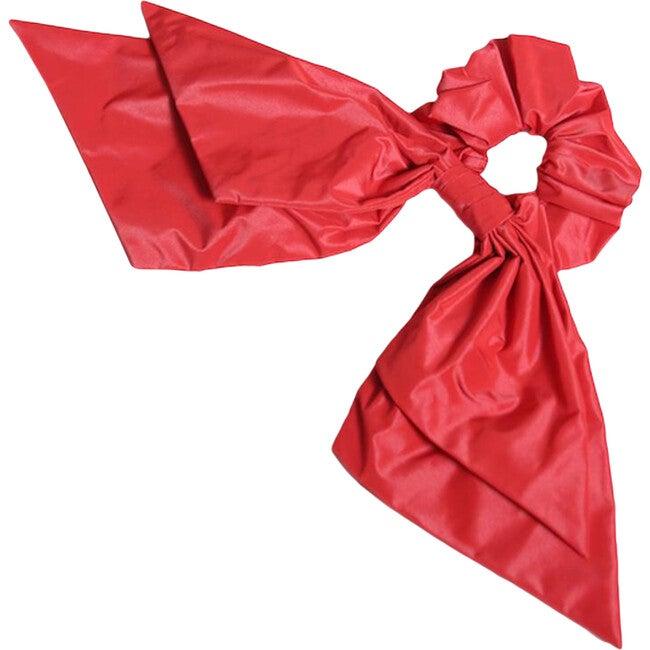 Ankara Scrunchie, Big Red - Hair Accessories - 1