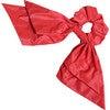 Ankara Scrunchie, Big Red - Hair Accessories - 1 - thumbnail