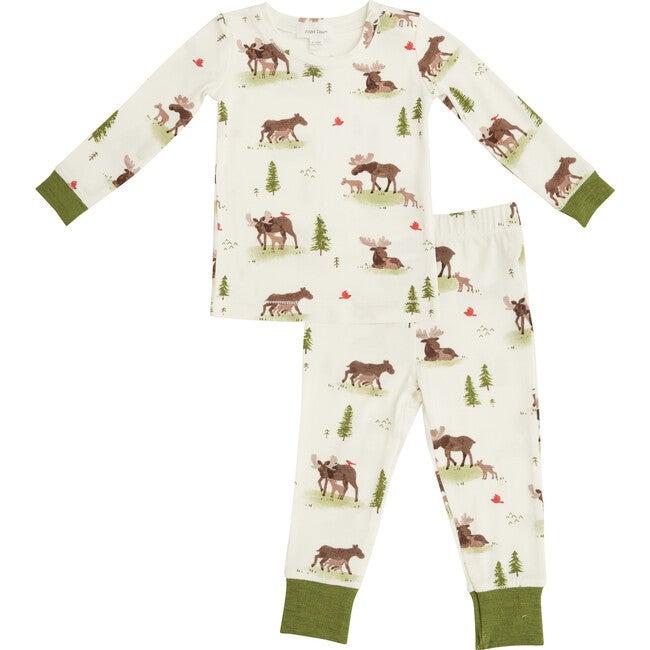 Moose Loungewear Set, White