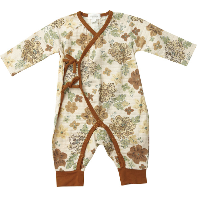 Wrap Coverall, Brown