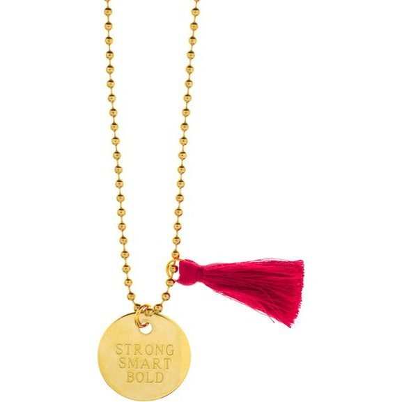 Strong, Smart, Bold Necklace