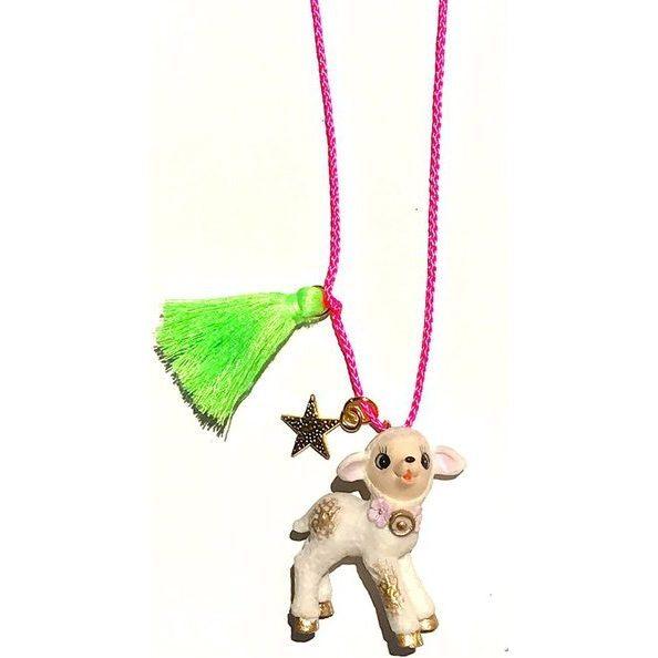 La La the Lamb Necklace