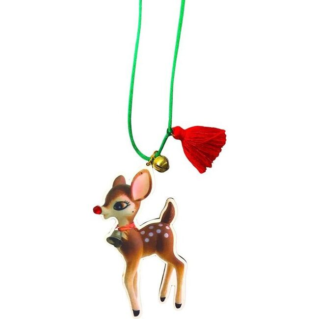 Holiday Fawn Necklace