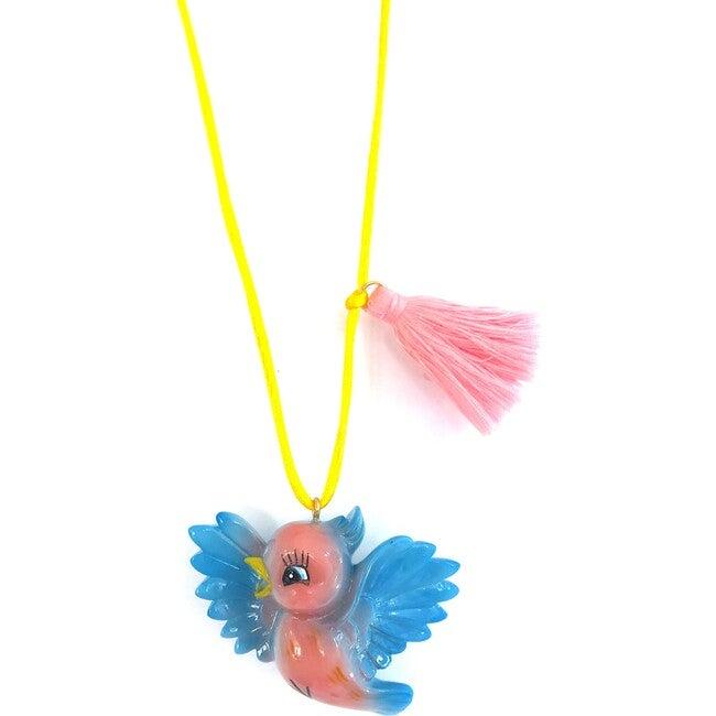 Birdie the Blue Bird Necklace