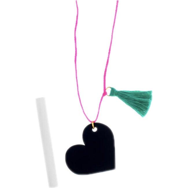 Chalkboard Heart Necklace