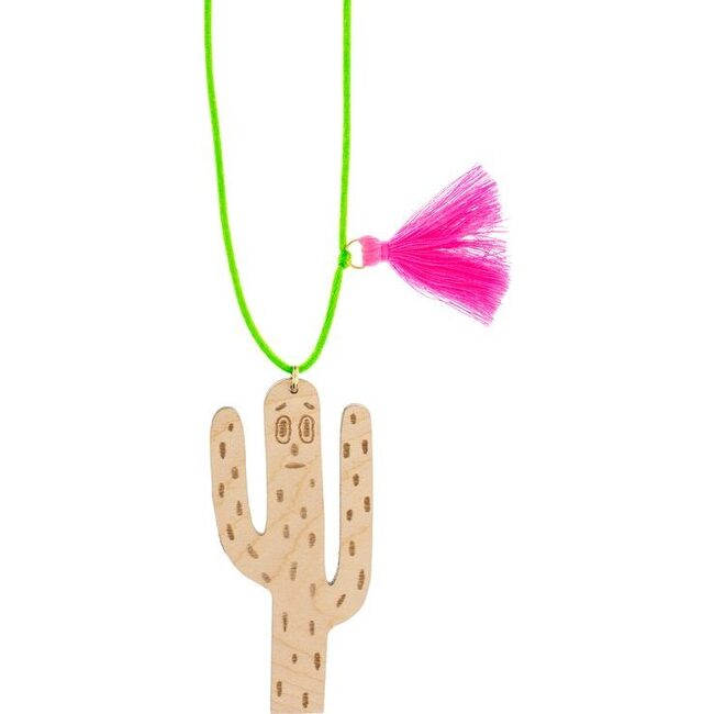 Cactus Ghost Necklace