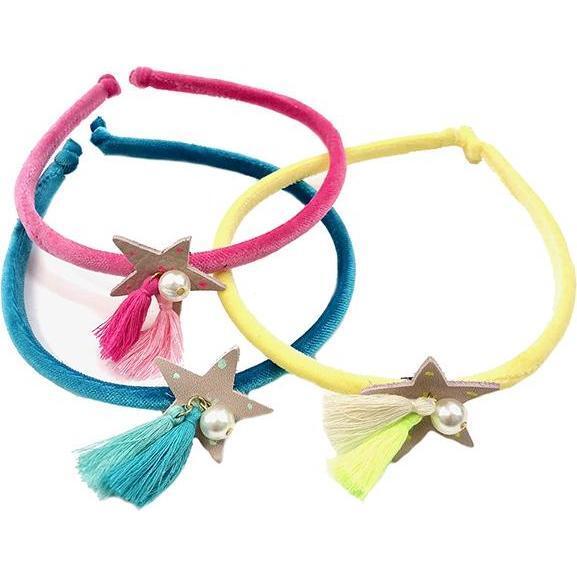 Cosmic Star Headband, Pink