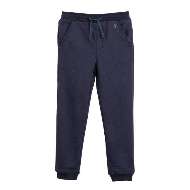 Dale Jogger, Navy Blue - Sweatpants - 1
