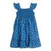 Daria Dress, Blue Flower Pots - Dresses - 1 - thumbnail