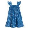 Daria Dress, Blue Flower Pots - Dresses - 3