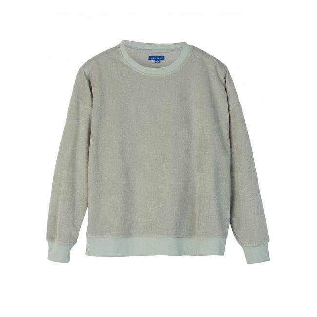 Ariana Women's Terry Sweatshirt, Light Sage