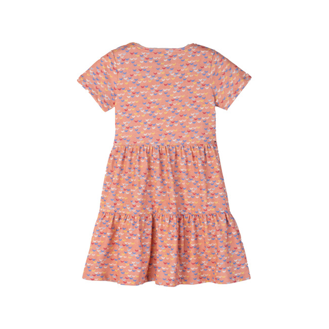 Pauline Dress, Pink Waves