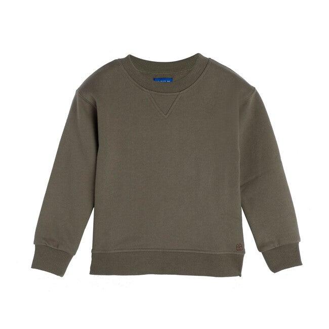 Tyler Sweatshirt, Dusty Olive - Sweatshirts - 1