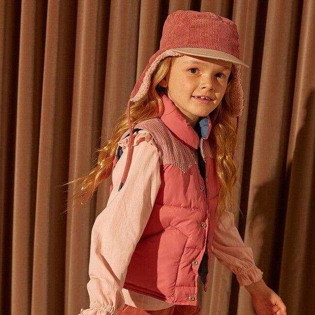Jordan Cord Hat, Pink Tonal
