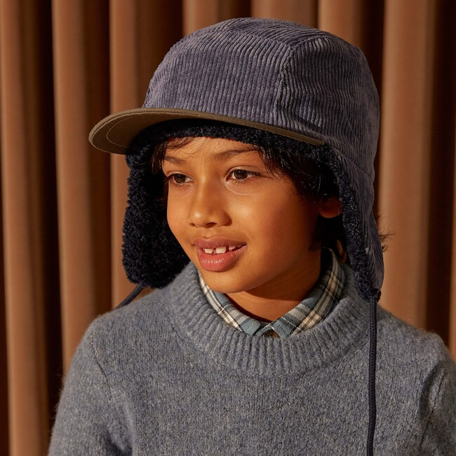 Jordan Cord Hat, Blue Tonal