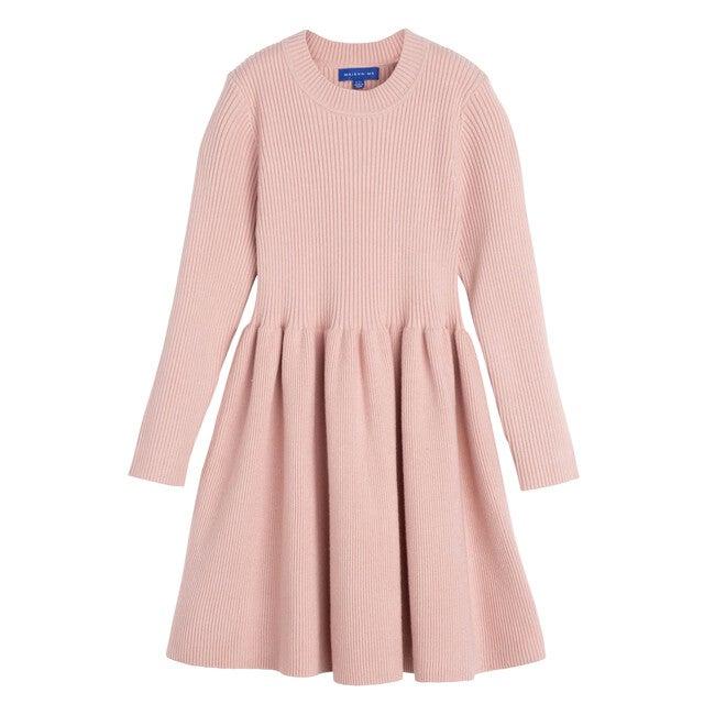 Lea Knit Dress, Rose