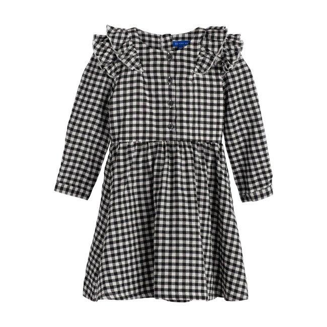 Lexi Dress, Black & White Check
