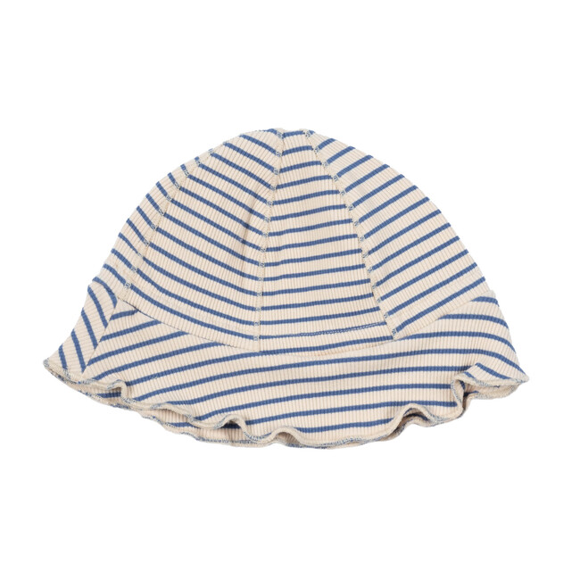 Novi Hat, Blue & Natural Stripe