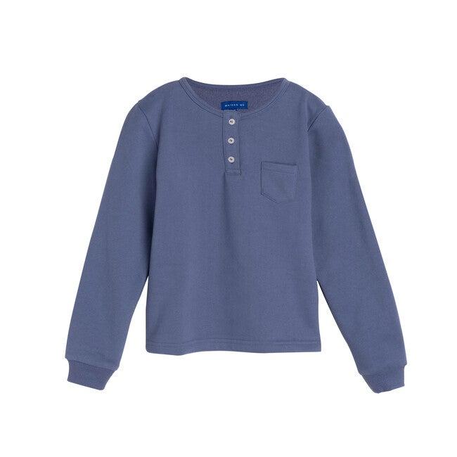Rory Henley Shirt, Deep Dusty Blue