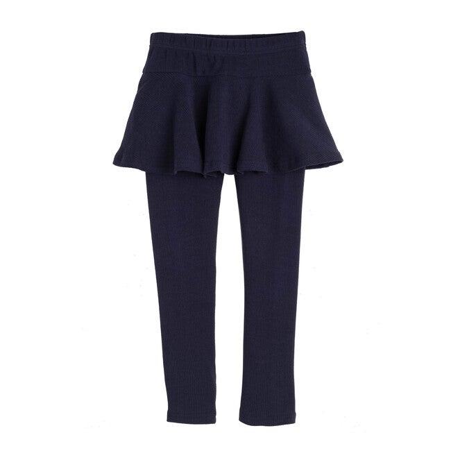 Luna Skirt Legging, Navy