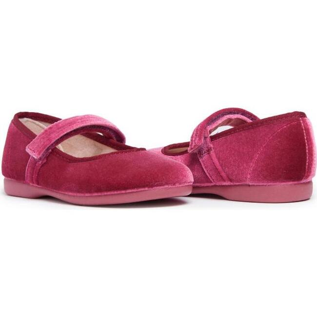 Classic Velvet Mary Janes, Pink