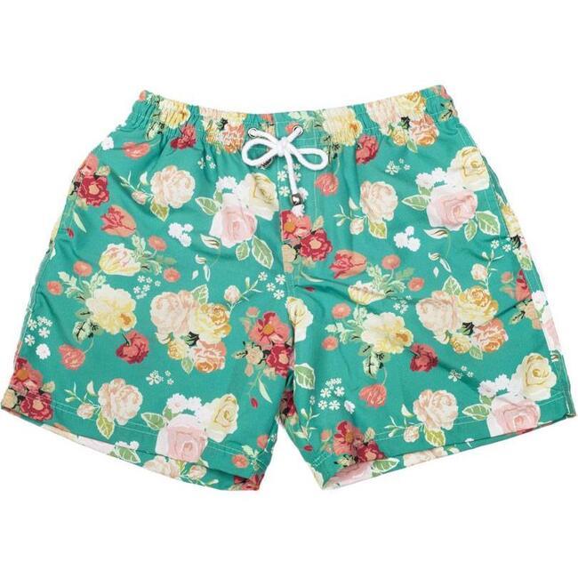 Boys board shorts, Rose Green