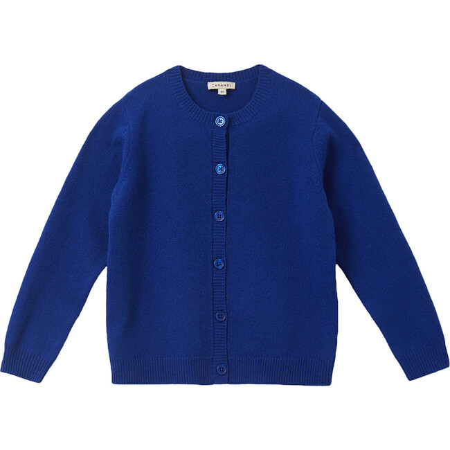 Lyon Cardigan, Azure Blue
