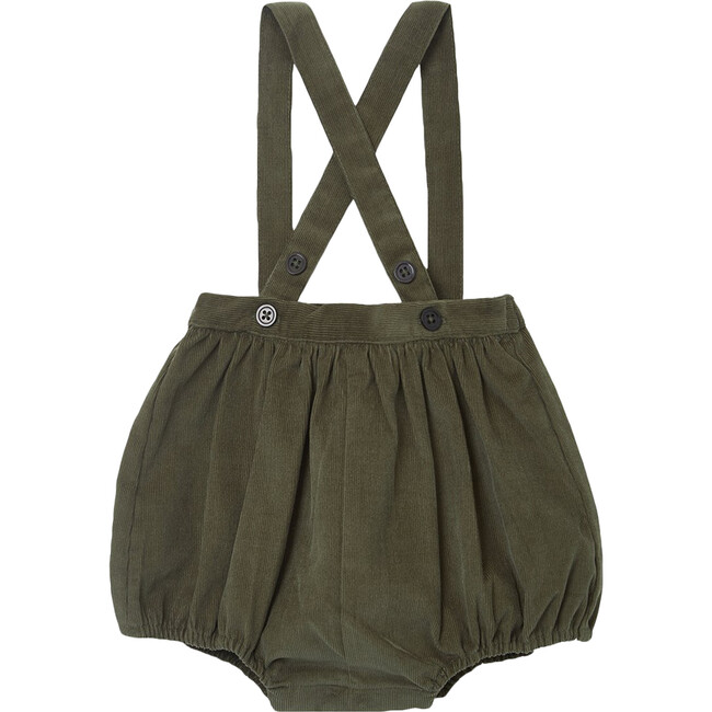 Pare Baby Romper, Olive