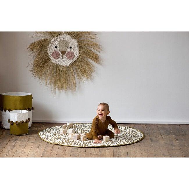 Luxe Diaper Free Reversible Playmat, Sand Castle