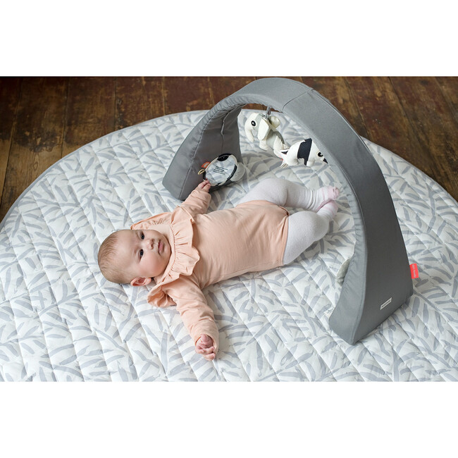 Luxe Diaper Free Reversible Playmat, Stone