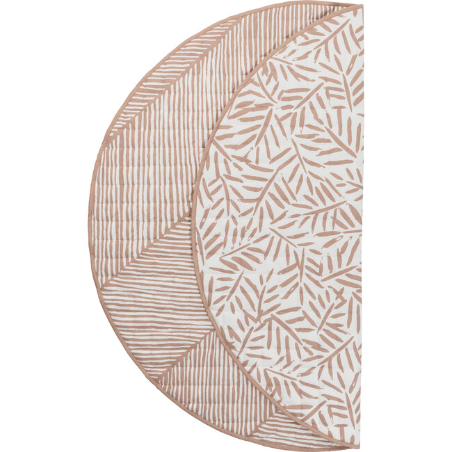 Luxe Diaper Free Reversible Playmat, Sea Shell