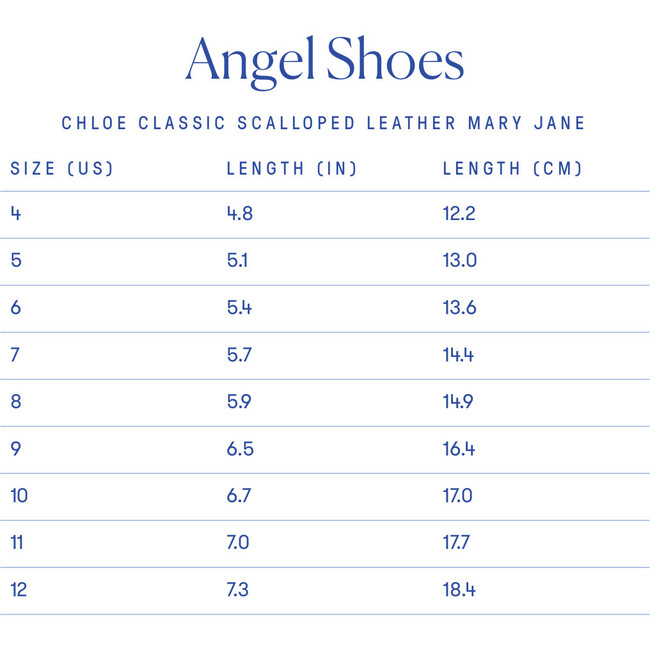 Chloe Classic Scalloped Leather Mary Jane, Black