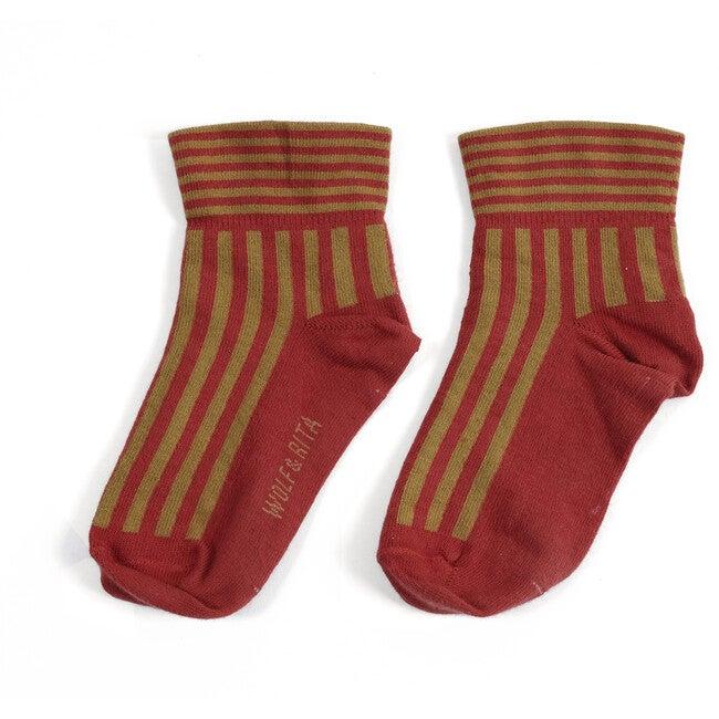 Striped Socks, Orange