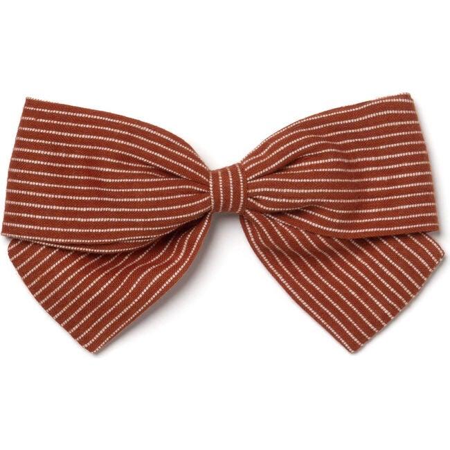 Big Bow, Amber Stripes