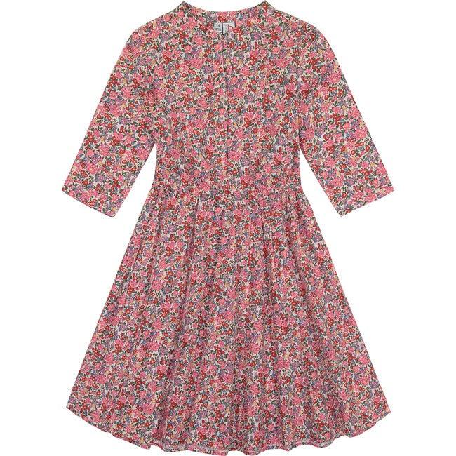 Gabriela Tween Circle Skirt Dress, Multi Floral