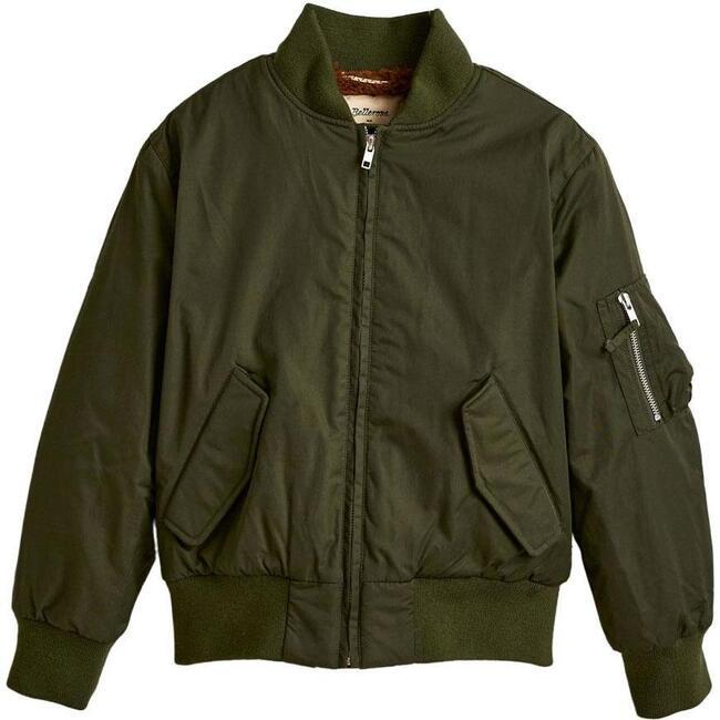 Hany Bomber Jacket, Khaki Green