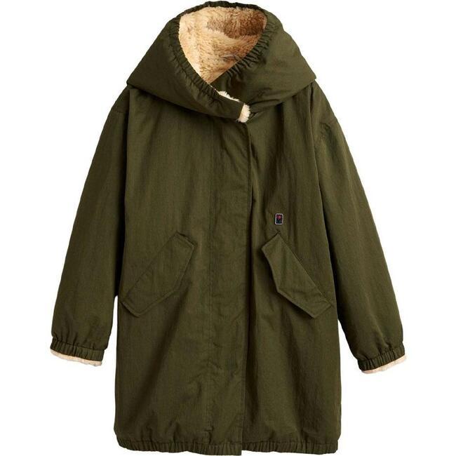 Coat Habour Olive, Khaki