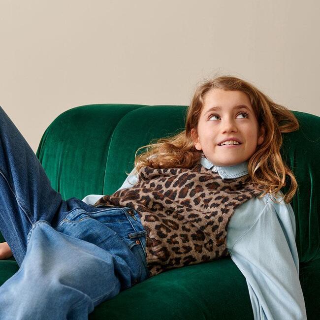 Gepess Sleeveless Sweater, Multicolor