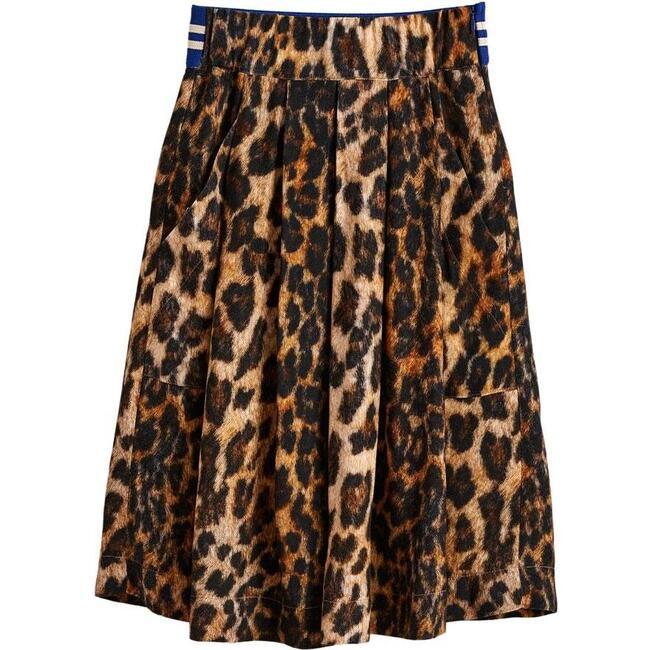 Amici Leopard Skirt, Multicolor