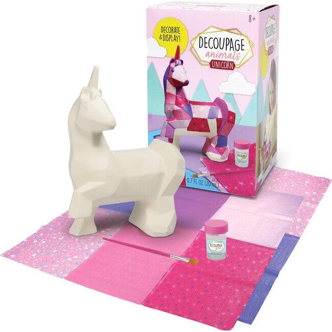 Decoupage Animals, Unicorn
